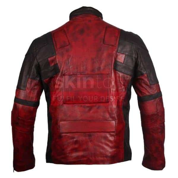 DEADPOOL RED JACKET BACK