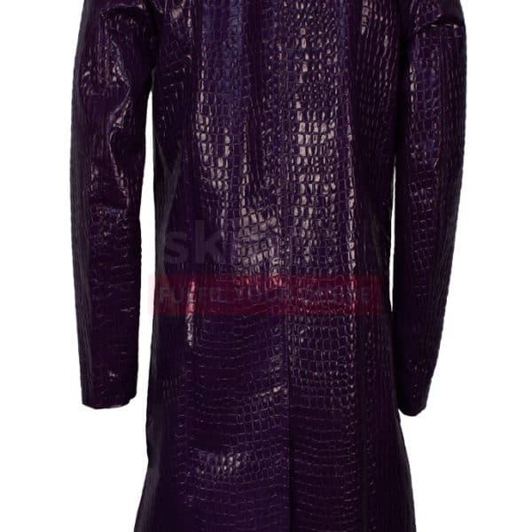 suicide squad joker coat back