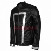 Agent Of Shield The Ghost Rider Mens Leather Jacket