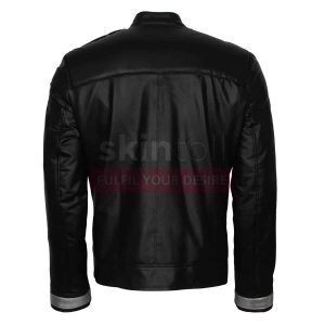 Agent Of Shield The Ghost Rider Season 4 Black Leather Jacket