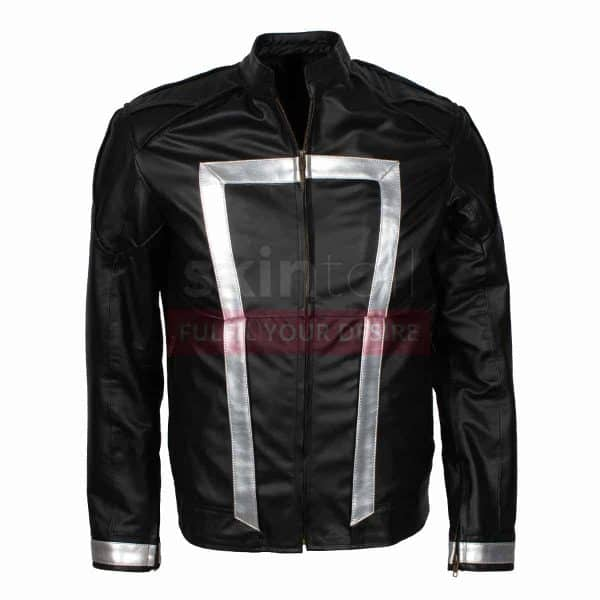 Agent Of Shield The Ghost Rider Season 4 Mens Costume Leather Jacket