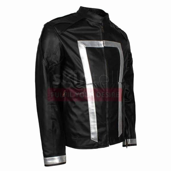 Agent Of Shield The Ghost Rider Season 4 Mens Leather Jacket
