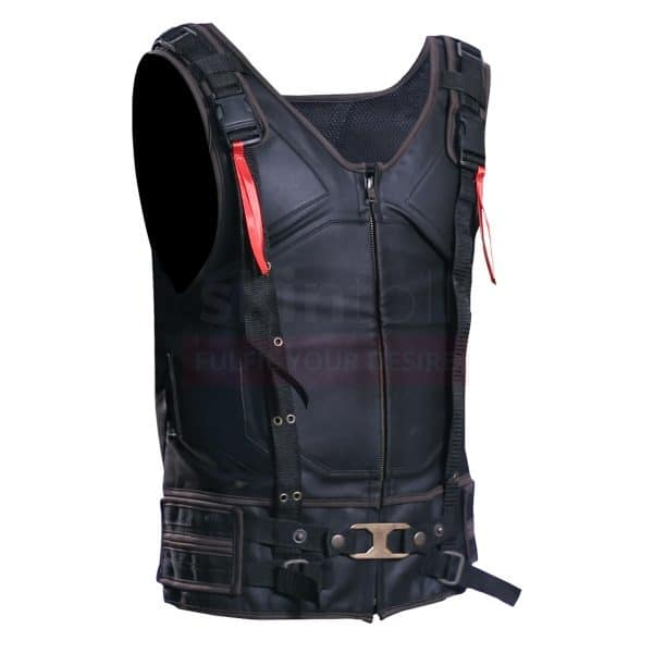 Bane Tom Hardy Leather Vest right