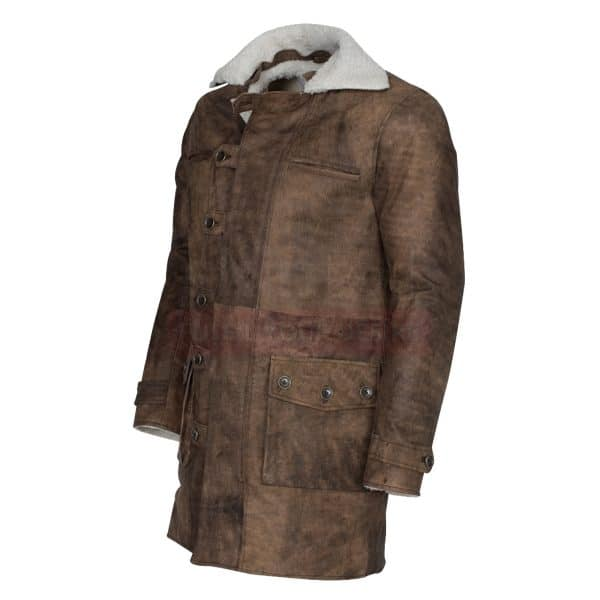 Distressed Brown coat