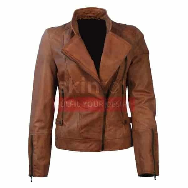new-classic-brown-womens-motorcycle-biker-lamb-skin-leather-jacket