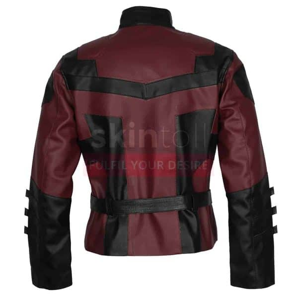 red-charlie-cox-daredevil-leather-jacket-back