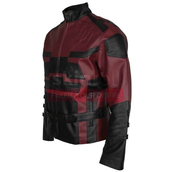 red-charlie-cox-daredevil-leather-jacket-left