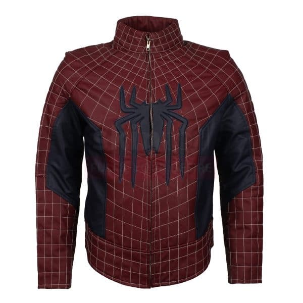 Spider Man Peter Parker leather jacket
