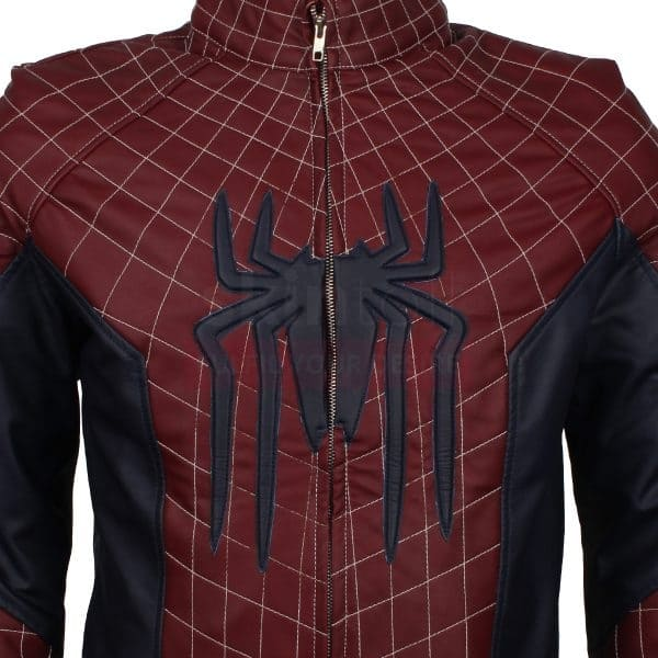 amazing spider man 2 leather jacket