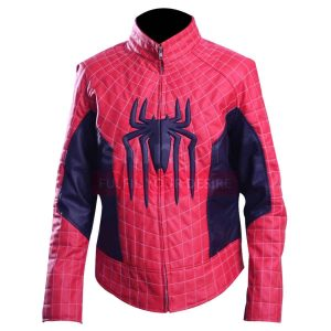 amazing spider man 2 peter parker jacket