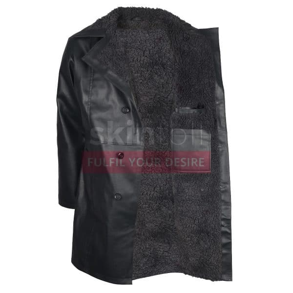 Suicide Squad Jai Courtney Captain Boomerang Leather Coat