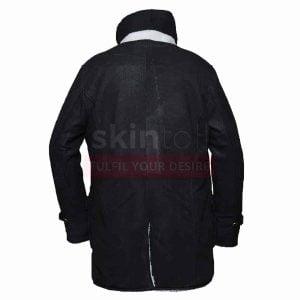 Tom Hardy The Dark Knight Rises Bane Distressed Black Leather Coat