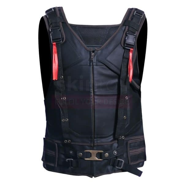 The Dark Knight Rises Bane Tom Hardy Leather Vest