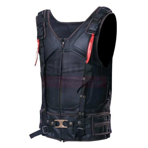 The Dark Knight Rises Tom Hardy's Batman Hi Quality Leather Bane Vest left