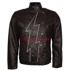 Firestorm Brown Costume Leather Jacket