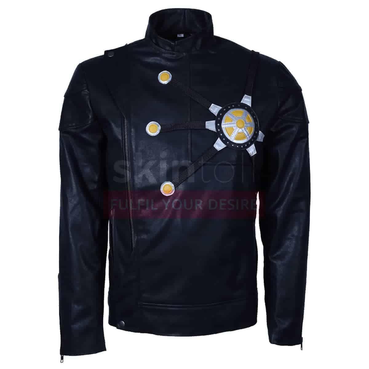 Dc Comics Series Black Leather Jacket Mens For Sale Skintoll