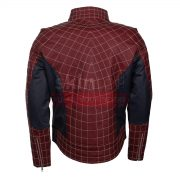 The Spider Man Peter Parker Real leather jacket