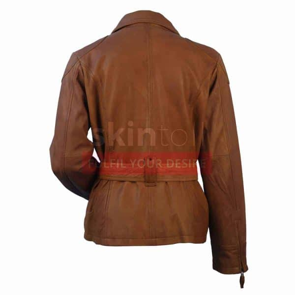 women-classic-belted-brown-lambskin-leather-jacket