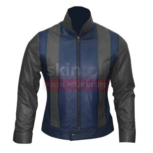 x-men fashion motorbike leather jacket