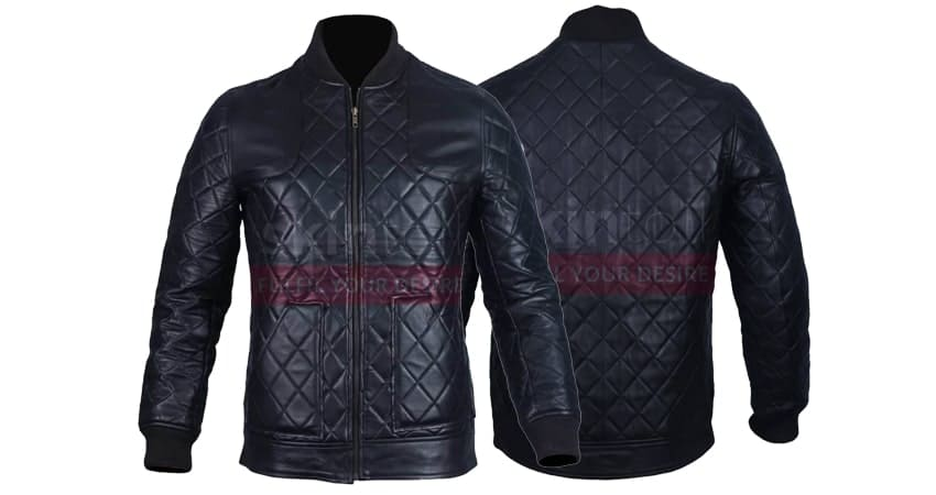 Motorcycle Fashion Black Jacket