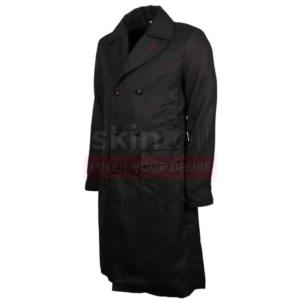Sherlock Holmes Benedict Wool Coat
