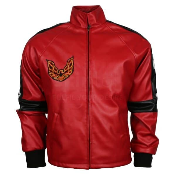 Red Smokey and The Bandit Out Leather Jacket