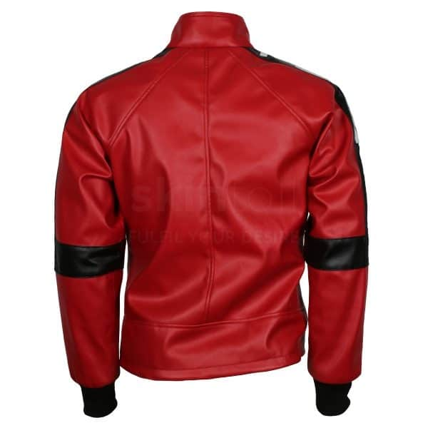 The Bandit Out Mens Burt Reynolds Vintage Leather Biker Jacket