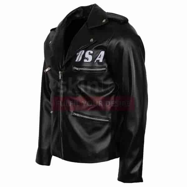 George Michael BSA Faith Rockers Leather Jacket