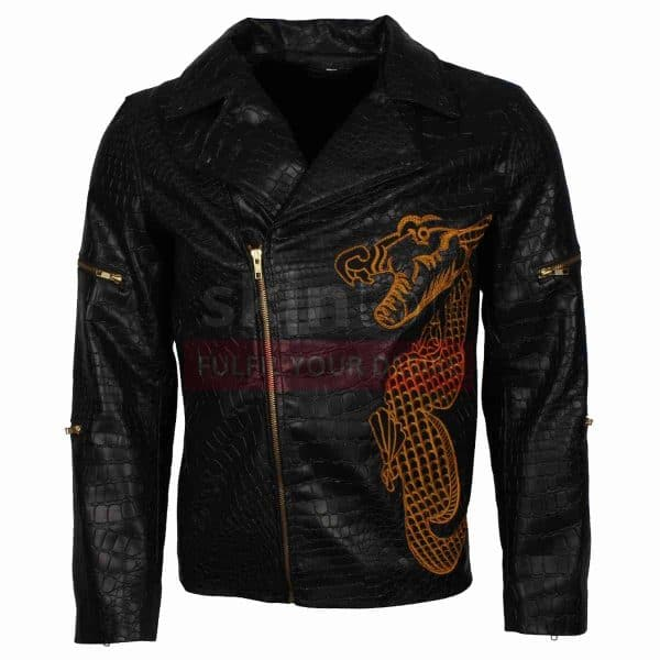 Suicide Squad Waylon Jones Dragon  Jacket