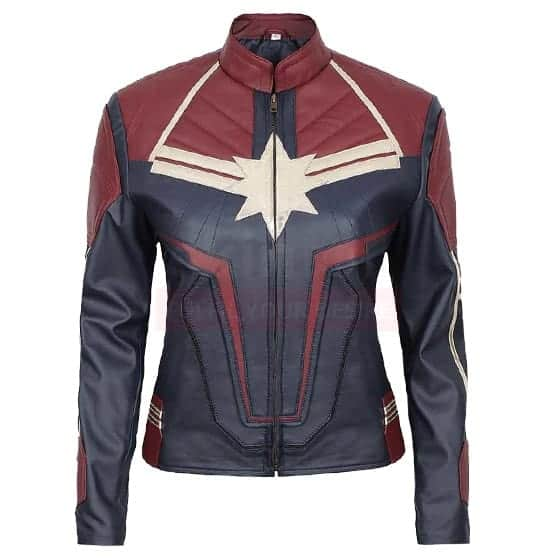 Carol Danvers Captain marvel leather jacket
